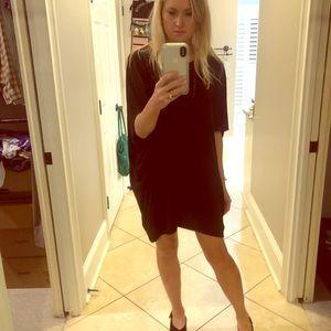 Hatch Maternity Black Slouch Dress Size 0